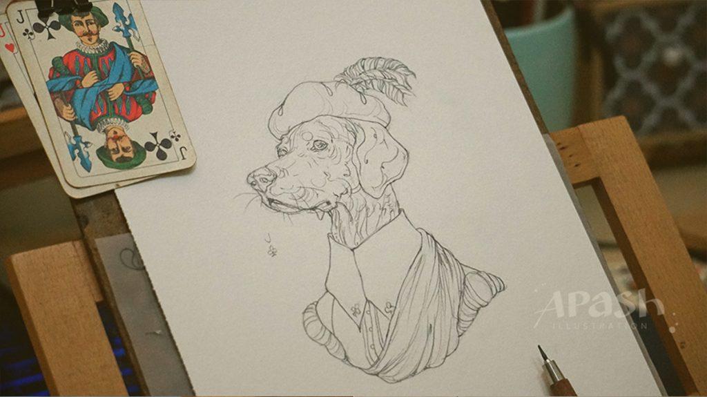 Картинката не може да има празен alt атрибут; името на файла е apash-illustration-dog-cards-poker-playing-men-dog-kingdom-ACE-spatiq-clubs-bird-aquarelle-j-jacj-vale-1024x575.jpg