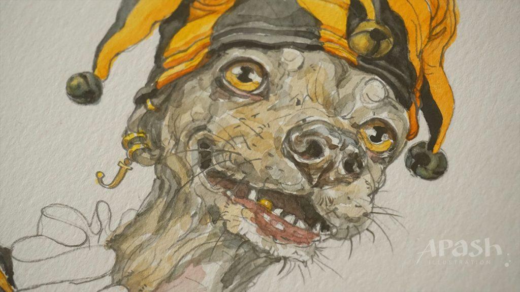 Картинката не може да има празен alt атрибут; името на файла е apash-illustration-dog-cards-poker-playing-men-kupa-dog-kingdom-joker-work-in-process-pencil-drawing-2-1024x575.jpg