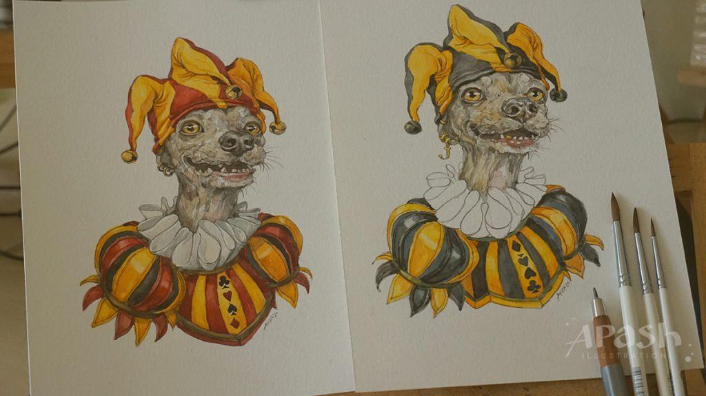 Картинката не може да има празен alt атрибут; името на файла е apash-illustration-dog-cards-poker-playing-men-kupa-dog-kingdom-joker-work-in-process-pencil-drawing-3-1024x575.jpg